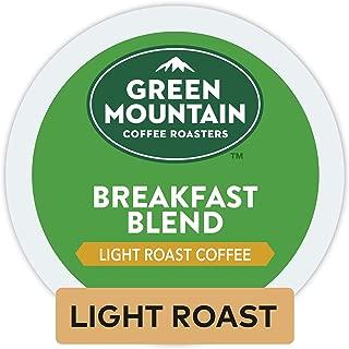 Green Mountain Coffee Roasters Breakfast Blend, Single Serve Coffee K-Cup Pod, Light Roast, 32