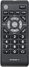 New Remote NS-RC4NA-17 NSRC4NA17 fit for Insignia LCD TV NS-24D310NA17 NS-24D510MX17 NS-24D510NA17 NS-32D310MX17 NS-32D310NA17 NS-32D311NA17 NS-39D310NA17 NS-40D510MX17 NS-40D510NA17 NS-48D510NA17