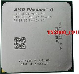 AMD Phenom II X6 1100T Black Edition - Conector de procesador de CPU (3,3 GHz, HDE00ZFBK6DGR, AM3, 938 pines)
