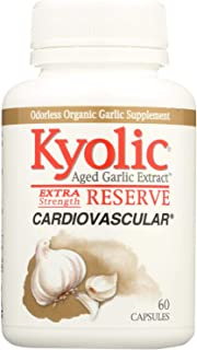 Kyolic Aged Garlic Extract Cardiovascular Extra Strength Reserve - 60 Capsules