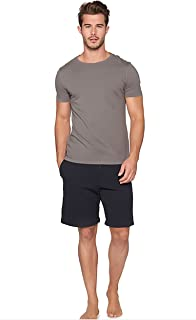 Short Sleeve Crew Neck T-Shirts for Men, Soft Fitted T-Shirt - by