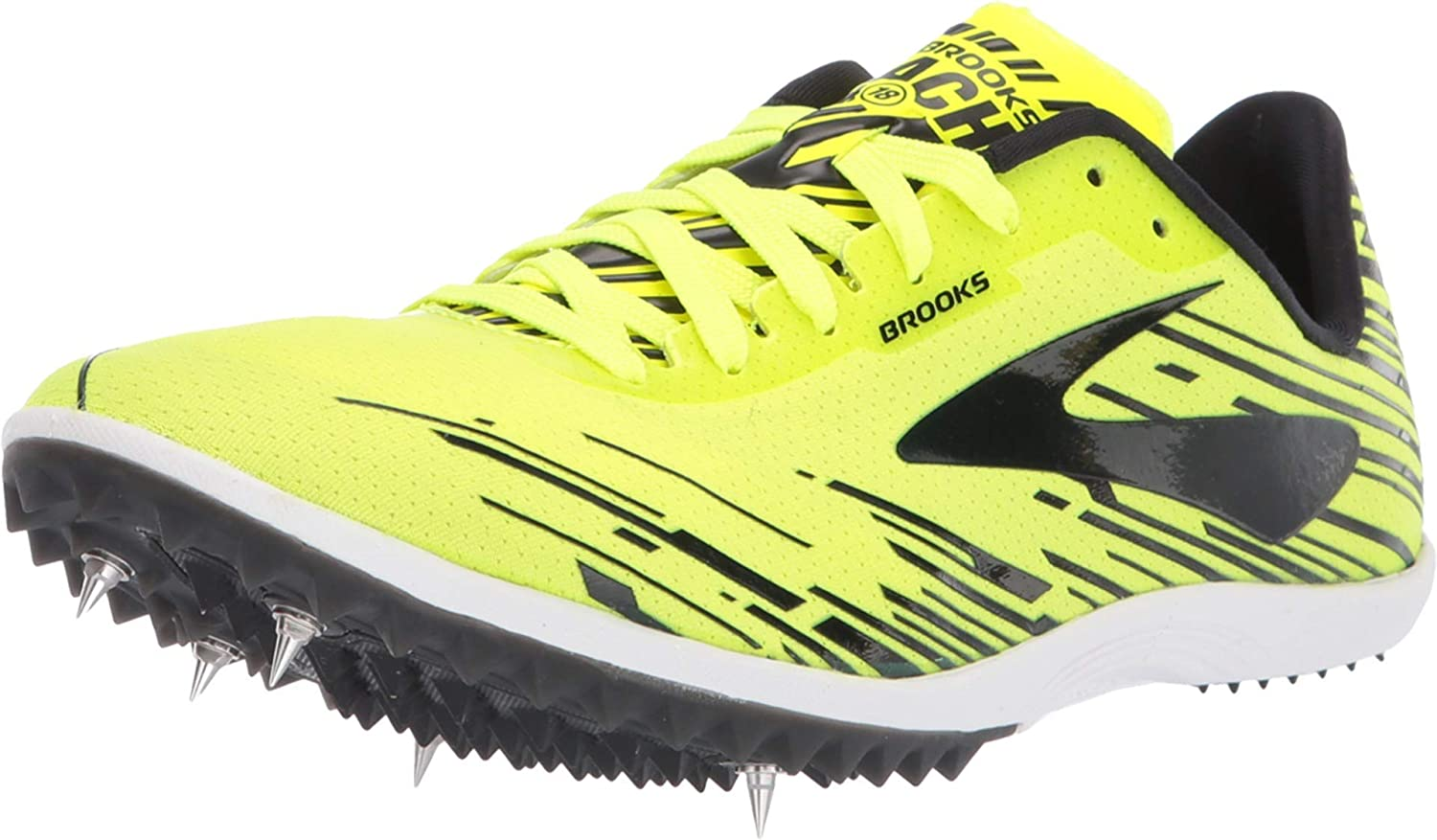 BROOKS MACH 18 MENS CROSS COUNTRY MUD RUNNING SHOES SPIKES 7 8 9 10 11 12 13