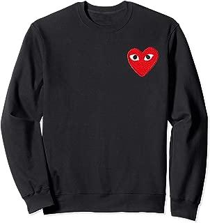 Heart Pocket T-Shirt Men Women Kids Sweatshirt