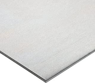 6061 Aluminum Sheet, Unpolished (Mill) Finish, T6 Temper, AMS QQ-A-250/11/ASTM B209, 0.025