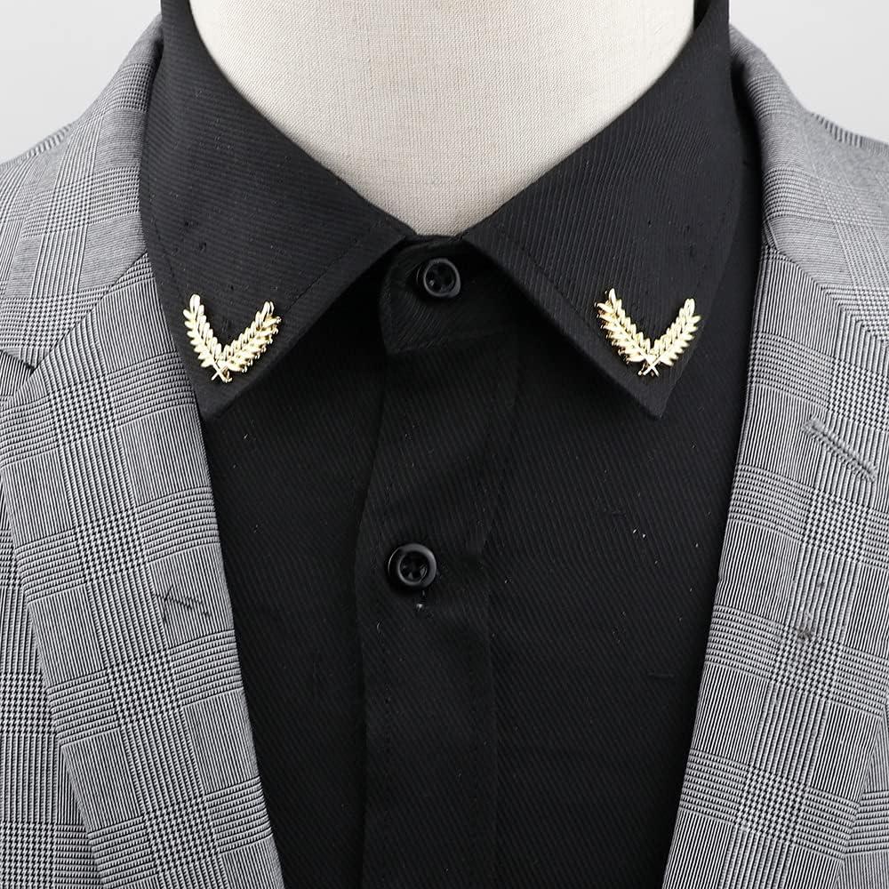 Max 41% OFF GYZX 1 Pair Retro Lapel Pin Luxury Fashion Col Vintage Tree Brooch Leaf