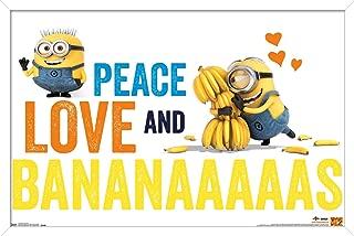 Trends International Illumination Minions - Bananas Wall Poster, 14.725