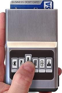 sliding card wallet