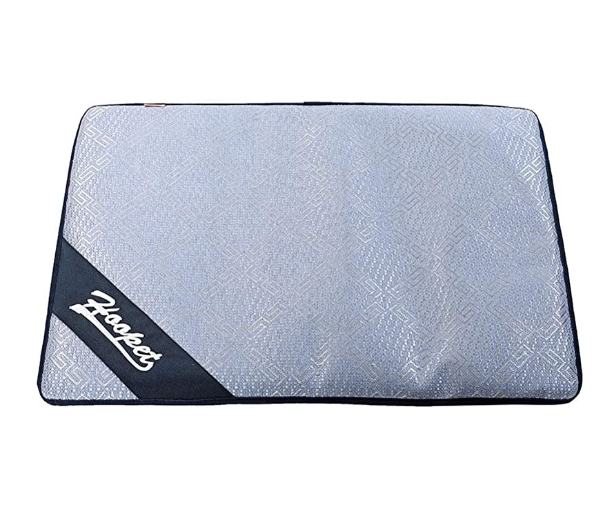 H-Jia Dog Self Cooling Gel Mat,Large Comfortable Pad for Dogs&Cats,Summer Sleep Cool Bed,No Need to Freeze Or Chill