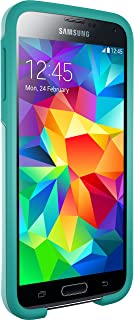 Otterbox SYMMETRY SERIES for Samsung Galaxy S5 - Retail Packaging - AQUA SKY (AQUA BLUE/LIGHT TEAL)