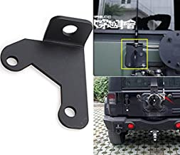 Jeep Spare Tire CB Antenna Mount for Jeep Wrangler Unlimited Rubicon Sahara JK 2/4 Door 2007-2018