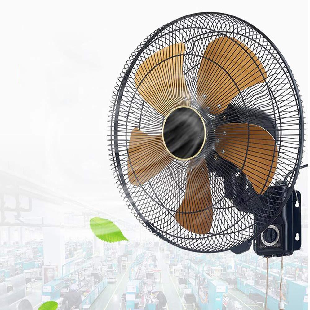 HRD Ventilador Grande silencioso Comercial, Ventilador de Pared Industrial, Ventilador oscilante del Dormitorio del Restaurante, 20 Pulgadas: Amazon.es: Hogar