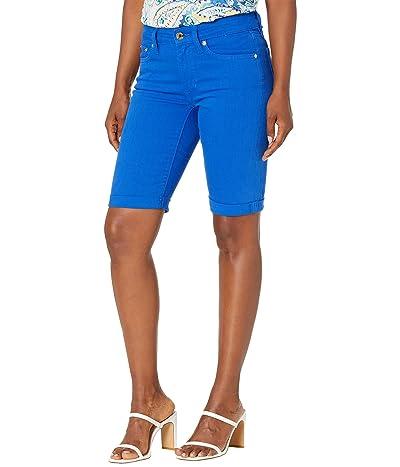 LAUREN Ralph Lauren Mid-Rise Denim Bermuda Shorts