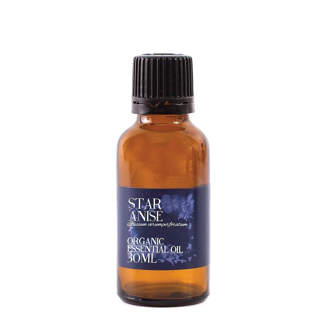 ビクタータブレット工場Mystic Moments   Star Anise Organic Essential Oil - 30ml - 100% Pure