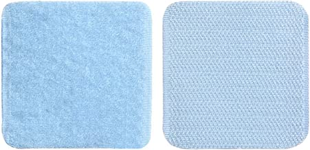 Anti Slip Rug Underlay, Non Slip Pads PVC Material Non-Slip Wear-Resistant Firm Paste Reusable No Traces Torn Off Used for...