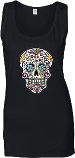 Day of The Dead Women's Vest Mexican Sugar Skull