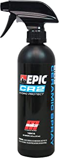 Malco Epic CR2 Hydro Protect Ceramic Spray – Rejuvenates and Protects Vehicle Exterior Finishes/Shine, Protect, and Beautify Your Vehicle/Deep Hydrophobic Shine on All Types of Surfaces/16oz (109416)