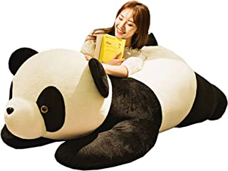 もちもちパンダ ぬいぐるみ ふわふわ抱き枕 特大 かわいい 背もたれクッション 柔らかい 萌え ふんわり 抱きやすい 癒し バレンタインデー プレミアム 結婚式 彼女へ 読書枕 座り抱きまくら 150cm