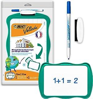 BIC 967261 Velleda Pizarra Reciclable con marcador azul y