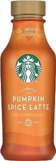 Starbucks Iced Espresso 14 Fl Oz Bottles (Pumpkin Spice, 6 Bottles)