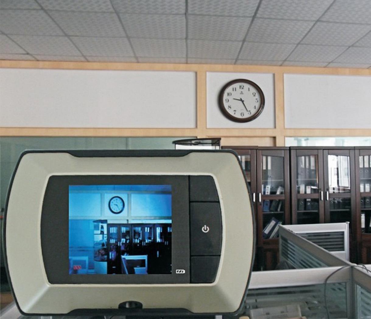 Visor digital de la puerta Timbre de la c/ámara de la mirilla Timbre de la c/ámara Pantalla LCD de 2.8 pulgadas Visi/ón nocturna Sesi/ón fotogr/áfica Monitoreo digital de la puerta para la seguridad del
