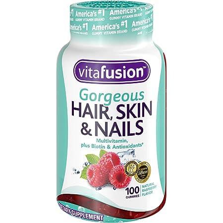 Vitafusion Gorgeous Hair, Skin & Nails Multivitamin Gummy Vitamins, 100ct