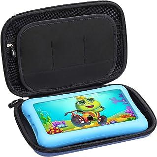 Aproca Hard Travel Carrying Case for Leapfrog LeapPad Ultimate Tablet (Black-New) (Blue-2)