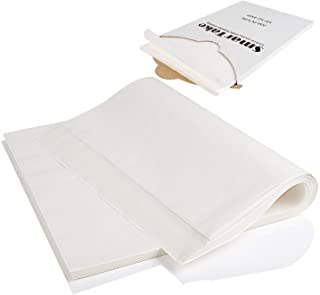 """200-Pcs Parchment Paper Baking Sheets, SMARTAKE 12x16"""" Non-Stick Precut Baking Parchment, Perfect for Baking Grilling Air Fryer Steaming Bread Cup Cake Cookie and More (White)"""