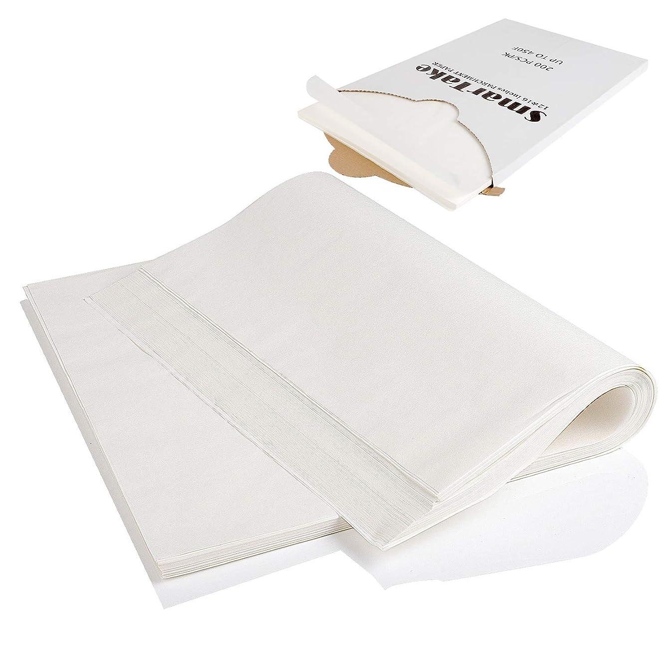 200-Pcs Parchment Paper Baking Sheets, SMARTAKE 12x16
