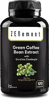 comprar comparacion Extracto de Café Verde Natural con Garcinia Cambogia pura, 120 cápsulas, para perder peso, quemar grasas y disminuir el ap...