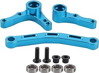 Steering Bellcranks, Aluminium Alloy Material, Car Repair Tool Truck Buggy Car Upgrade Parts,(blue)