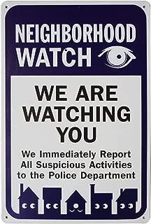 neighborhood watch posters