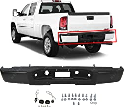 MBI AUTO - Primered, Steel Rear Step Bumper Assembly for 2007-2013 Chevy Silverado 1500 & GMC Sierra 1500 07-13, GM1103159
