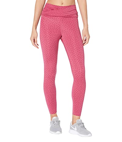 Nike NY Dots Twist 7/8 Tights (Sweet Beet/Team Red) Women