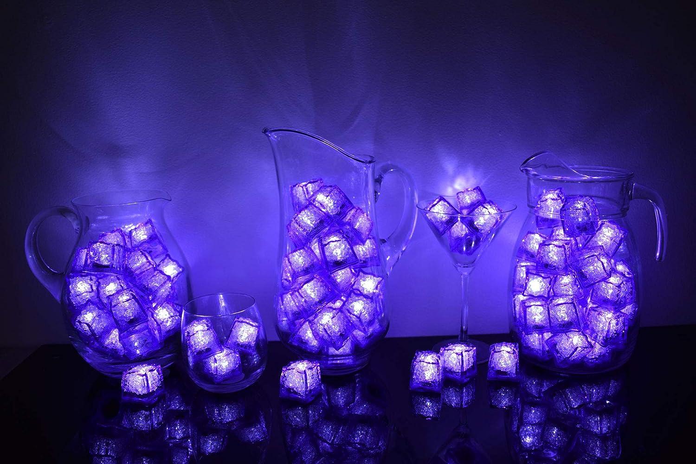 Litecubes Brand Jewel Color Columbus Mall Selling Tinted Purple Amethyst 3 Mode Light