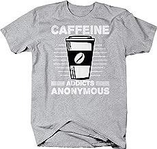 M22 Caffeine Addicts Anonymous Coffee Energy T-Shirt