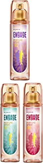 Engage W3 Perfume Spray For Women, 120ml And Engage W1 Perfume Spray For Women, 120ml And Engage W2 Perfume Spray For Wome...