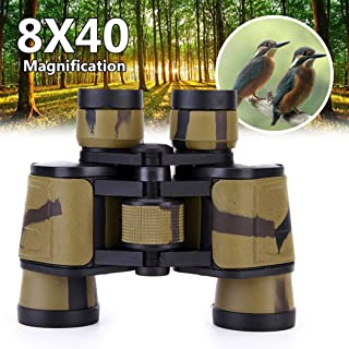 8X40 HD Binoculars Telescope Optic Night Vision For Outdoor Marine Birdwatching Hunting + Bag