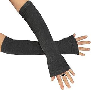 moritzhome Armstulpen schwarz uni aus Wollstoff