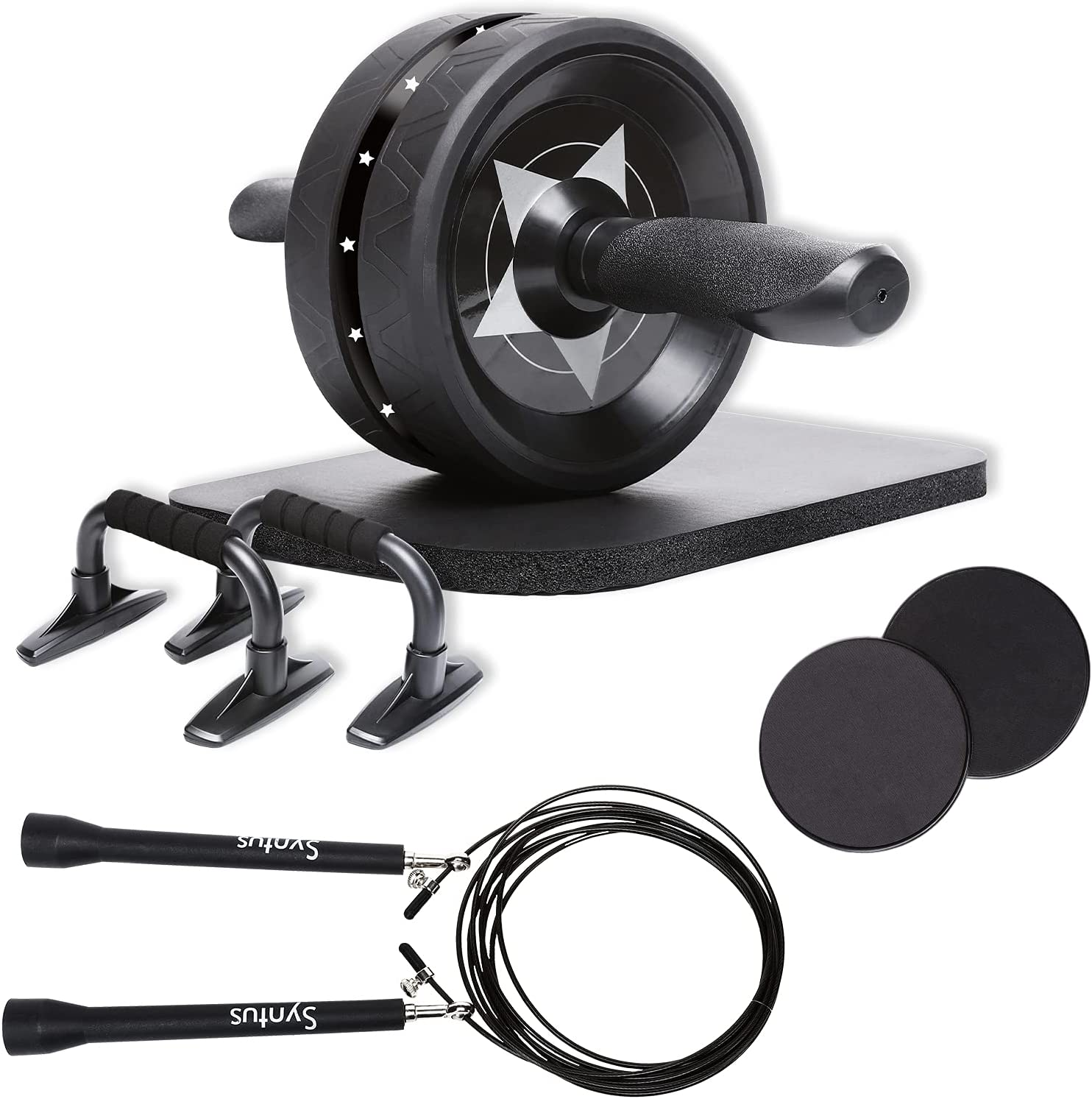 Obenater 8-in-1 Push-Up Bar Home Workout Equipment $16.49 Coupon