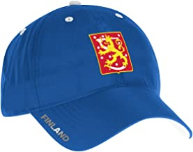 adidas Team Finland 2016 World Cup of Hockey Slouch Adjustable Hat