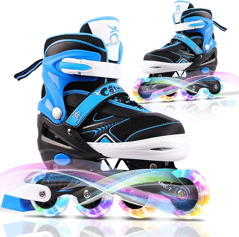 Mixhomic Adjustable Roller Max Washington Mall 84% OFF Skates Boys Inline Kids Girls