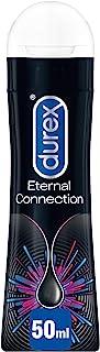 Durex Eternal Connection Pleasure Gel Lubrificante Intimo a Lunga Durata a Base Siliconica, 50ml