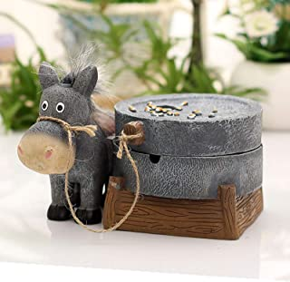 Creative Resin Donkey Pull Grinding Ashtray,for Birthday Christmas KTV,Bars,Office Furnishing Articles,Home Decor Smoking ...