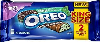 Milka & Oreo King Size Mint Chocolate Candy Bar Multi Pack (6)