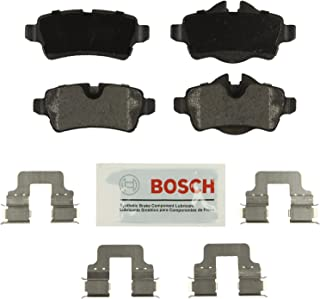 Bosch BE1309H Blue Disc Brake Pad Set with Hardware for Select 2007-15 Mini Cooper Vehicles - REAR