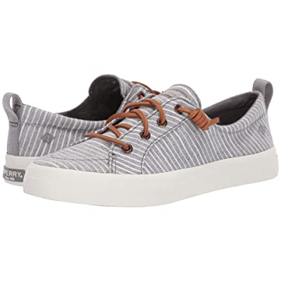 Sperry Crest Vibe Chambray Stripe (Grey/White) Women