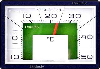 PKW Auto Zusatz Thermometer 1976 mit Magnet und Halterung