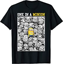 Despicable Me Minions One In A Minion Color Pop Portrait T-Shirt