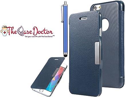 2ed1a08903c TCD - Funda para iPhone 5 y 5S (Piel sintética, Cierre magnético, Incluye