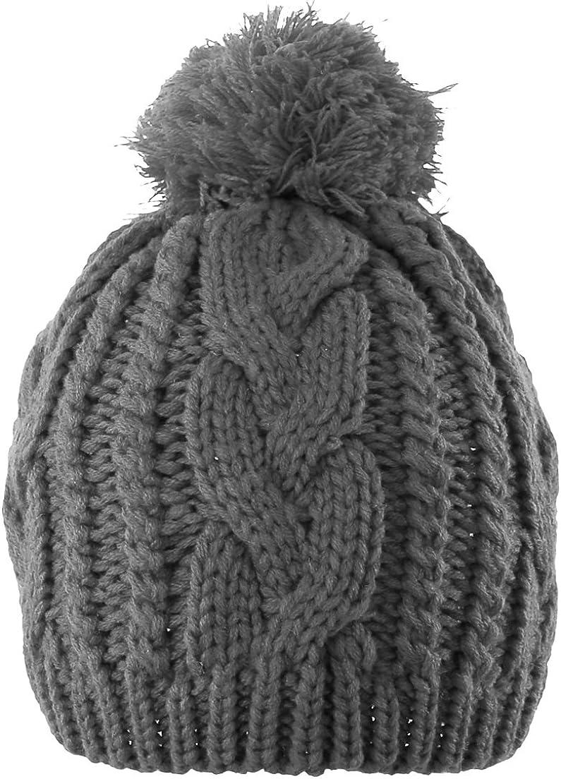 Novawo Industry No. 1 Unisex San Francisco Mall Trendy Pom Hat Winter Slouchy Warm B Knit Hats